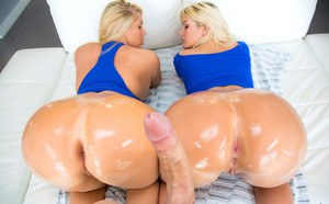 Big ass oiled porn