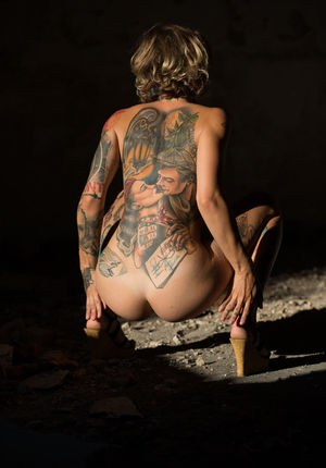 Ass Tattoo Porn